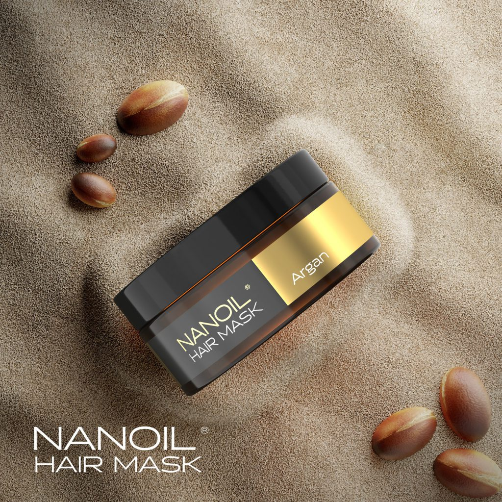 Nanoil - die beste Haarmaske mit Arganöl